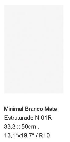 MYYTY! #L069# 25,1m2 erä Minimal Branco 33,3x50 matta
