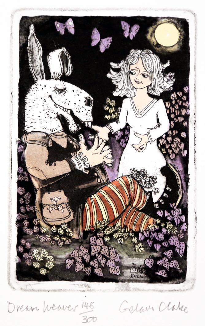 Dream Weaver, 14 x 9 cm.