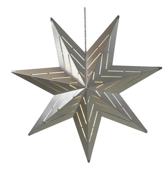 Funky Star häng - vit