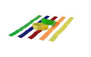 Märkband Velcro 10-p röd