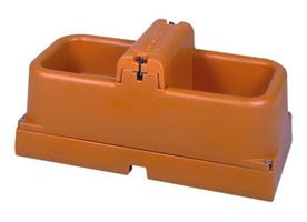 Heatable water bowl