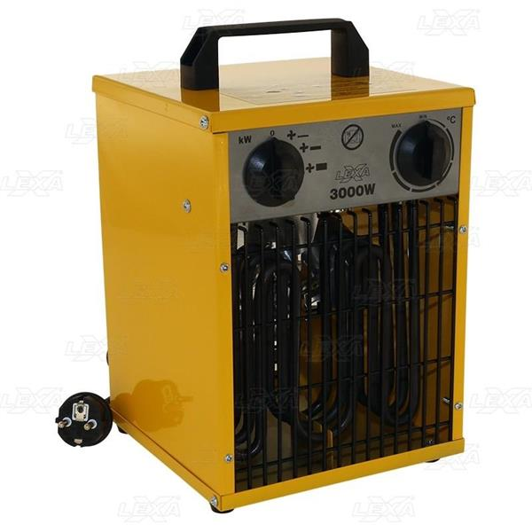 Rakennuslämmitin 3kW 230V IPX4  220-240V ~ 50Hz 3kW / 3000W (40m²) 3 tehoa
