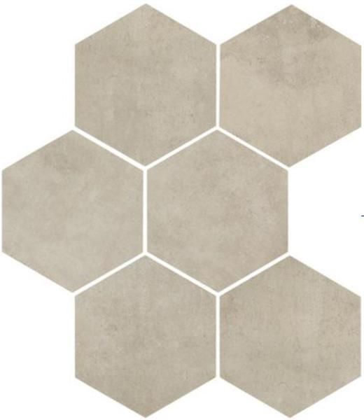 28,00€/m2 Clays Shell 6-kulmainen 21,0 x 18,2