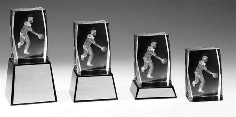 3D Glas Bowling Herr