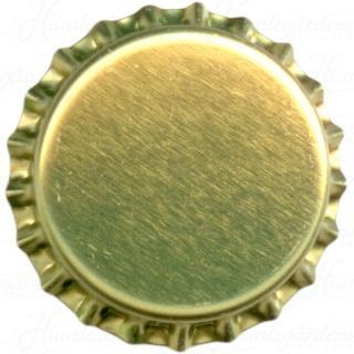 guldfärgade kapsyler, 250 st