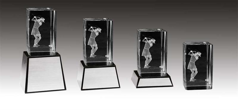 3D Glas Golf Dam