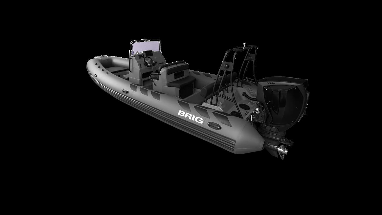 Brig N730L, hyd styr, targa, nav lys, urigget