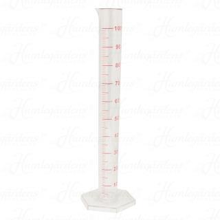 mätglas, plast, 100 ml