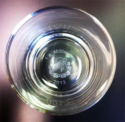 Whiskeyglas Islande 20 cl dubbelgravyr