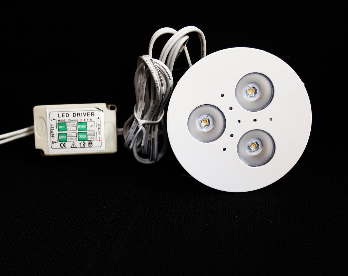 Downlight LED Vit 3000K 3,6W