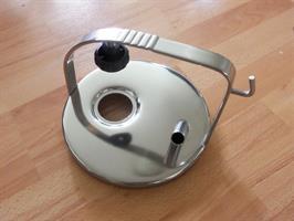 Lock rostfri, i utgång, puls. 120mm