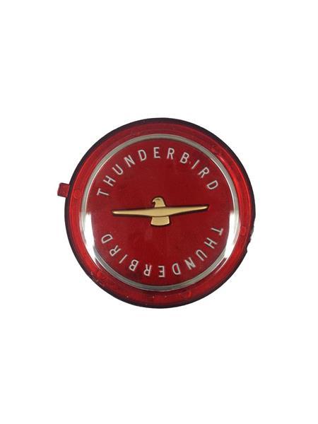 Ekerfälg Emblem 72mm Thunderb.Röd