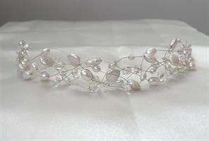 Ariel hårpynt sølv