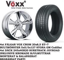 VOXX Old S.C55.20x8,5 Crom.Däck 245x40R20 Suretrac