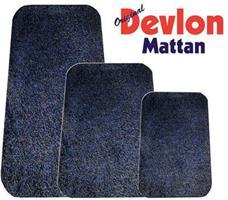 Devlon Micro matte 75x100 Blå