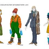 Charlie and the chocolate factory - Det Norske Teatret - Director: Vidar Magnussen - Costume Design: Christina Lovery