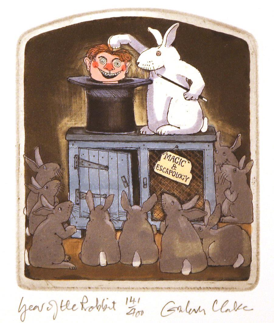 Year of the Rabbit, 12,4 x 10,6 cm.