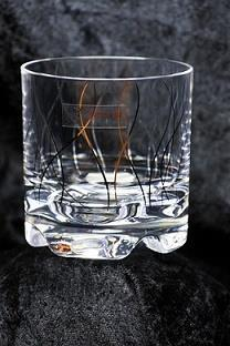 G664 Whiskyglas Guldlyx