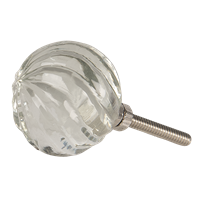 Knopp i glas spiral