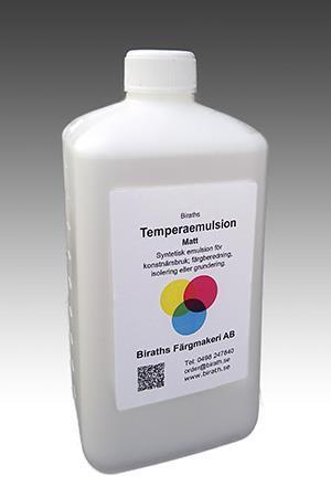 Temperaemulsion matt 1 L.