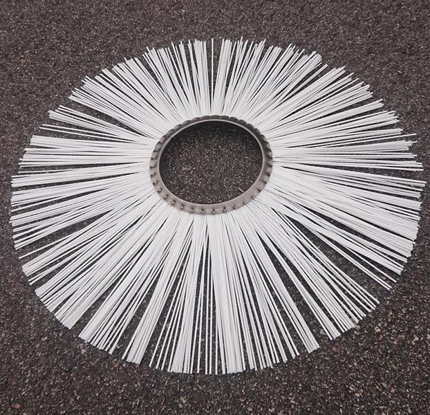 Borstring 700 x 178 Kupad. PP stålnav