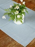 TORA bordløper i lin blå