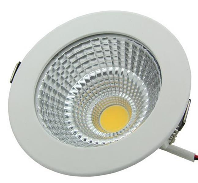 LED COB downlight 9W vit 3000K