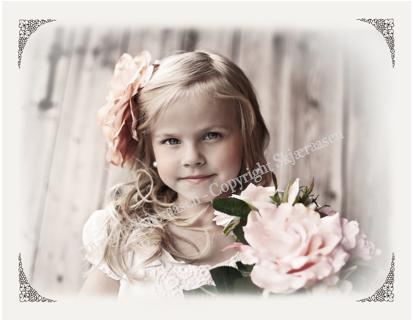 Postkort Linnea rose