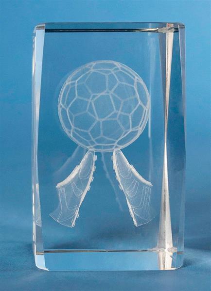 3D Glas Fotboll