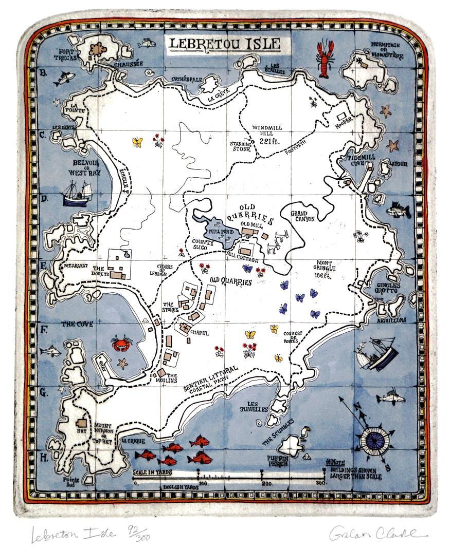 Lebreton Isle, 29 x 23,6 cm.