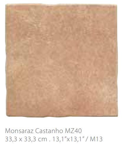 MYYTY! #042# 12,2m2 erä Monsaraz ruskea 11 mm  33,3 x 33,3
