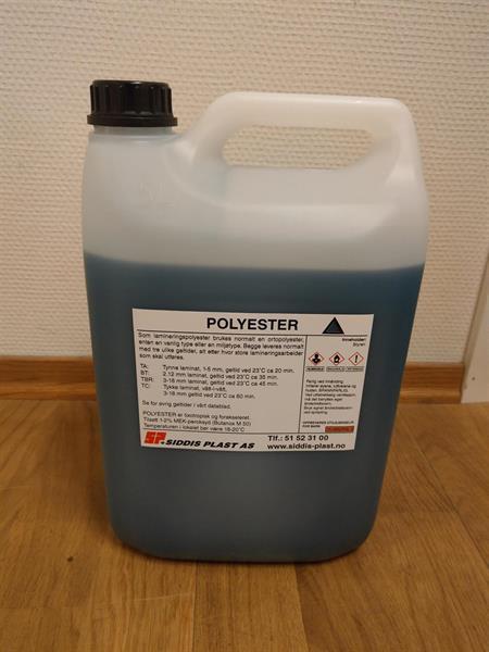 Polyester 5 kg Kanne