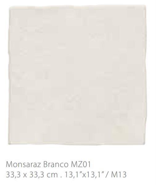 MYYTY! #L075# 12,0m2 erä Monsaraz valkea11 mm  33,3 x 33,3
