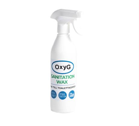 Toalett vax OxyG Sanitaion Wax