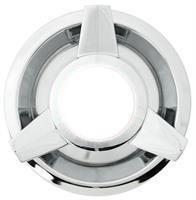 Ekerfälgs kapsel 155mm Chrome 3-ving