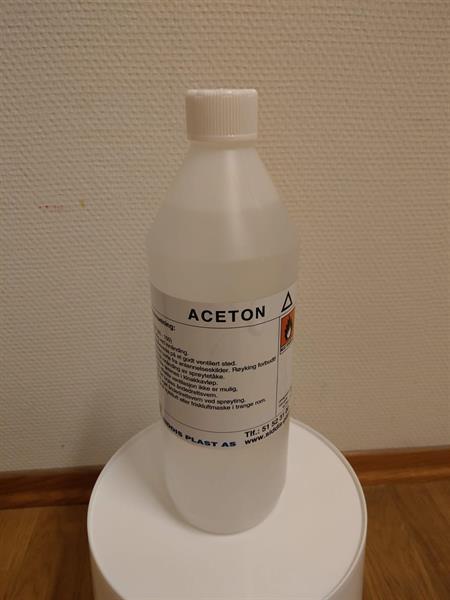 Aceton 1 liter Flaske