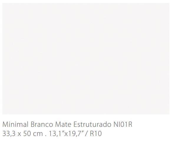 MYYTY! #L060# 23,4m2 erä Minimal Branco 33,3x50 matta