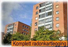 Kartlegging av radon forekomster i alle typer bygg og anlegg