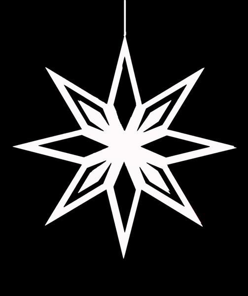 Hyper Star häng Stor - Vit