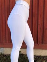 High-Waisted Jersey Training Breeches