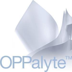 White opaque BOPP