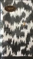 Buffet serviett Moire black, 15stk 3lags
