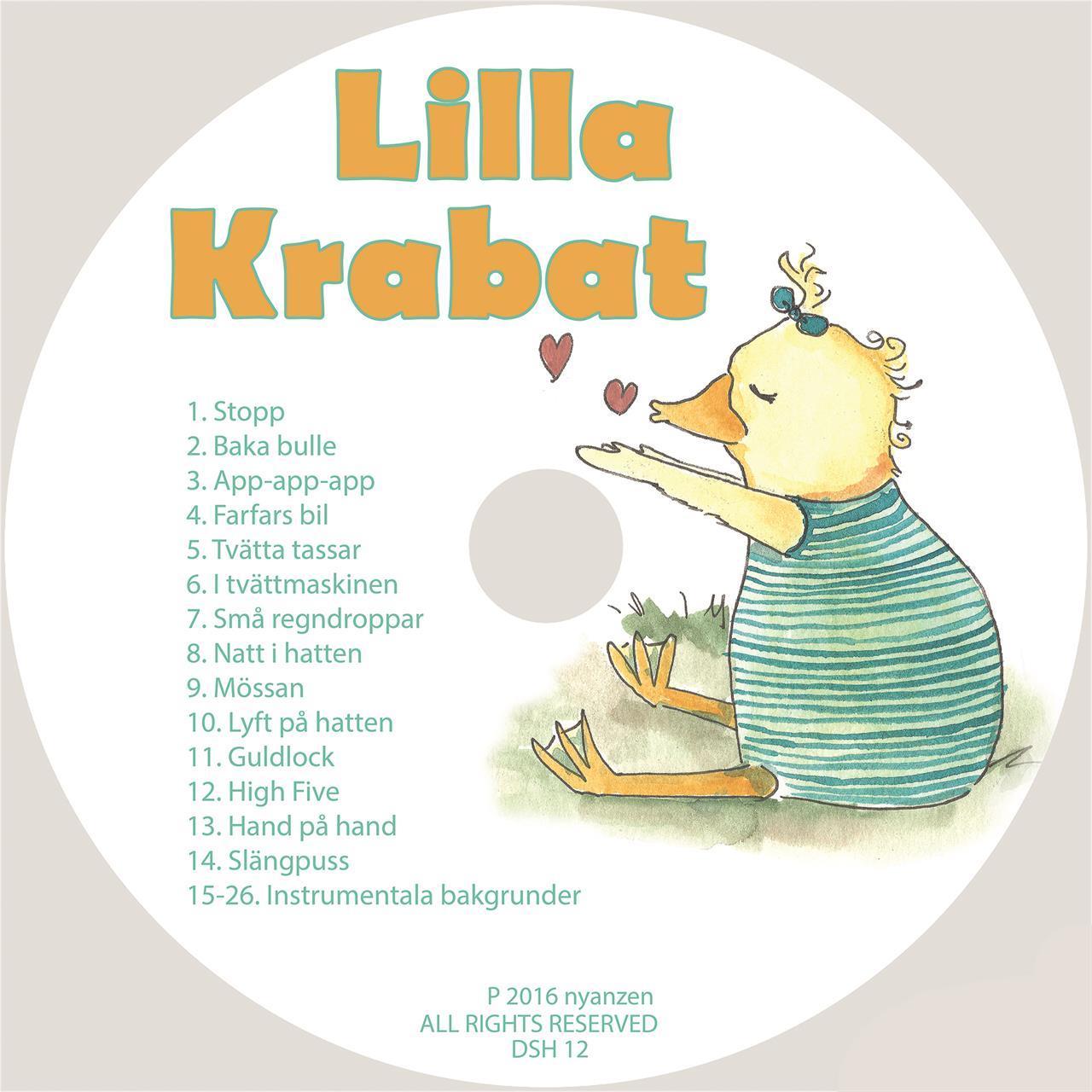Lilla Krabat Cd/Digital musik