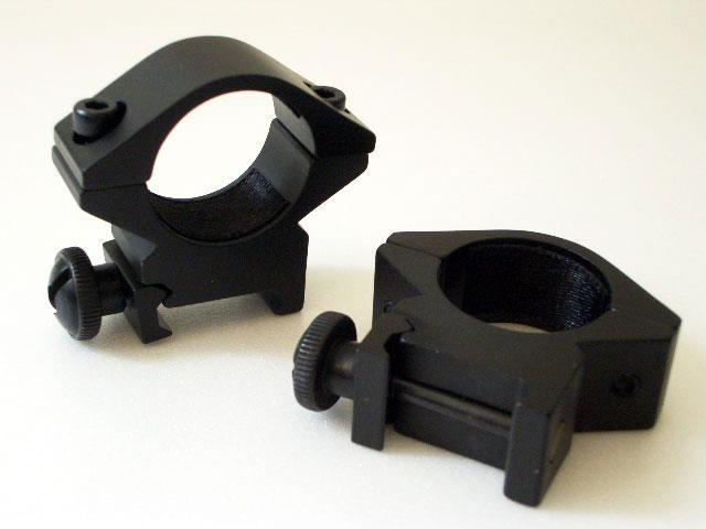 Weaverfäste Låg 25mm ring