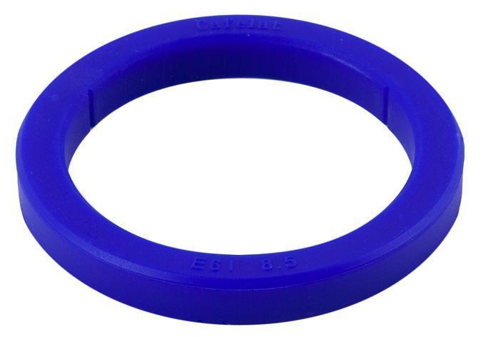 Brygghuspackning 73x57x8,5mm silikon E61 blå