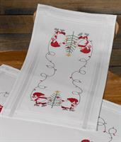 Jullöpare ritade korsstygn