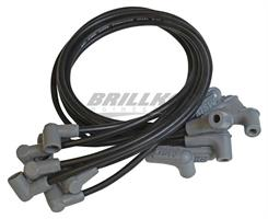 Wire Set, Black, SB Chevy, Socket