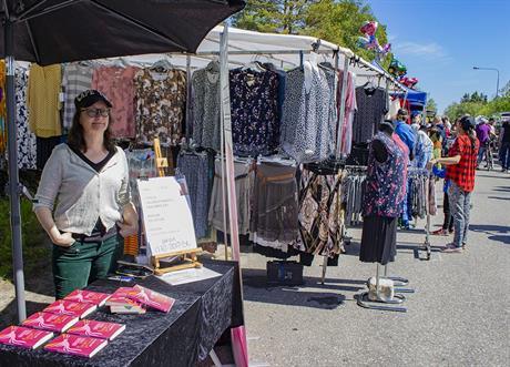 Anna-Karin på Obbola Marknad