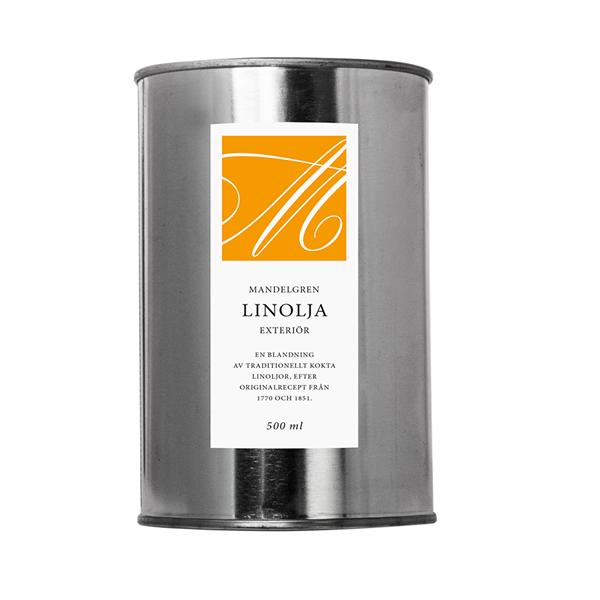 Linolja Exteriör; 500 ml