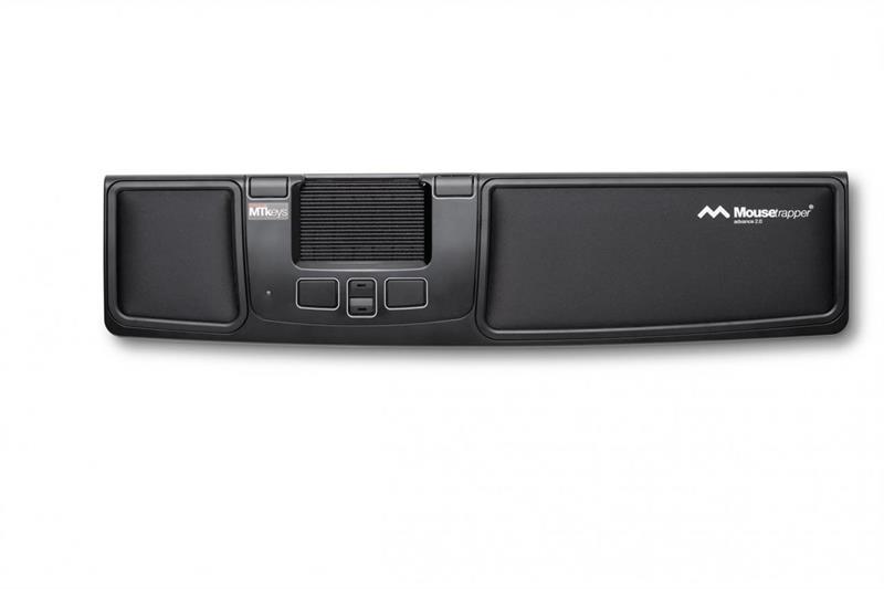 Mousetrapper Advance 2.0, Svart/Vit